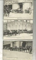10 Cartes : Amsterdam : Bezoek Van H.H. M.M. De Koning En De Koningen Der Belgen Op 15 September 1910 - Familles Royales