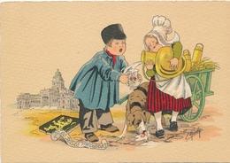 CPA - Illustrateurs - Signés - Naudy - La Petite Laitière - Naudy