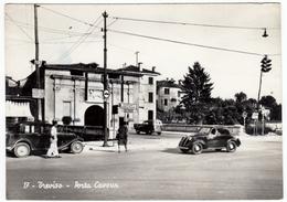 17 - TREVISO - PORTA CAVOUR - 1954 - AUTOMOBILI - CARS - FIAT TOPOLINO - Treviso