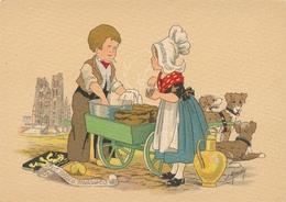 CPA - Illustrateurs - Signés - Naudy - Le Petit Marchand De Caracolles - Naudy