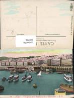 622736,Algier Alger Vue Prise Des Bastions De L Amiraute Hafen Schiffe Boote Algerien - Algerien