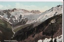 AO81 Asulkan Glacier, B.C. - 1910 Postcard, Duplex Postmark - British Columbia