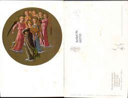 622723,Künstler Ak Beato Angelico Engelgruppe Gruppo D Angeli Religion - Christentum