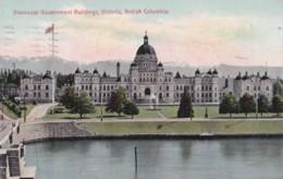 AO81 Provincial Government Buildings, Victoria, B.C. - 1910 Postcard - Victoria