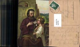 622705,Künstler Ak Oswald Völkel St Joseph Heiliger Religion - Christentum