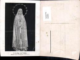 622681,U. L. Frau V. Fatima Königin D. Rosenkranzes Dornenkrone Religion - Christentum