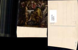 622673,Künstler Ak Rubens Istituzion Dell Eucarestia Jesus Teilt Wein Brot Religion - Christentum