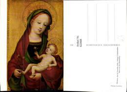 622668,Meister D. Hl. Veronika Maria M. D. Erbsenblüte Jesuskind Heiligenschein Relig - Christentum