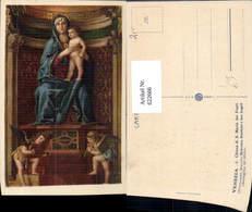 622666,Künstler Ak Giovanni Chiesa Di S. Maria Die Frari Madonna Bambino E Du Angeli - Christentum