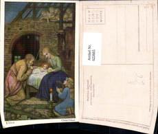 622665,Künstler Ak Matthäus Schiestl Weihnachten Heilige Familie Christi Geburt Relig - Christentum