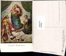 622664,Künstler Ak Raffael Madonna Di San Sisto Sixtinische Madonna Religion - Christentum