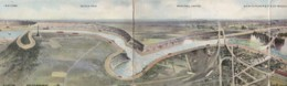 AO81 Panoramic View Over 3 Cards Of Niagara Falls, Posted 1908 - Niagara Falls