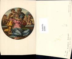 622661,Künstler Ak Michelangelo Sacra Famiglia Religion - Christentum