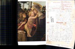 622659,Künstler Ak Botticelli La Vierge Jungfrau M. Christkind U. Heilige Johannes Re - Christentum