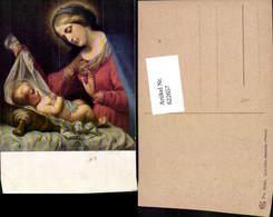 622657,Künstler Ak Carlo Dolci Madonna Heiligenschein Religion - Christentum
