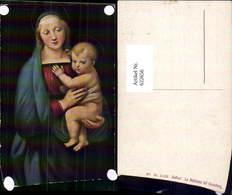 622656,Künstler Ak Raffael La Madonna Del Granduca Jesuskind Heiligenschein Religion - Christentum