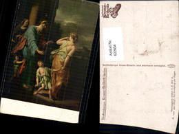 622654,Künstler Ak A. Van Der Werff Die Verstoßung D. Hagar Religion - Christentum