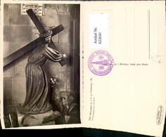 622641,Foto Ak Kreuztragender Christus Münster Freiburg I. Breisgau Statue Religion - Christentum