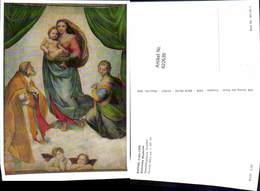 622639,Künstler Ak Raffael Sixtinische Madonna Religion - Christentum