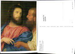622638,Künstler Ak Tizian Der Zinsgroschen Jesus Religion - Christentum