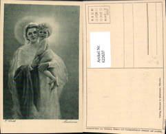 622637,Künstler Ak F. Ulrich Madonna Heiligenschein Religion - Christentum