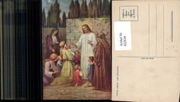 622634,Künstler Ak Jesus Benit Les Enfants Jesus M. Kinder Frauen Religion - Christentum
