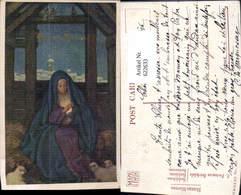 622633,Künstler Ak E. Fortescue Brickdale Bethlehem Maria Religion - Christentum