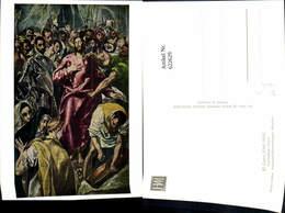 622629,Künstler Ak El Greco Entkleidung Christi Religion - Christentum