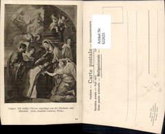 622625,Künstler Ak Crayer Die Heilige Therese Empfängt Madonna Ein Halskette Religion - Christentum