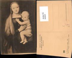 622623,Künstler Ak Raffaello La Madonna Del Granduca Jesus Heiligenschein Religion - Christentum