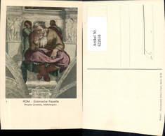 622618,Michelangelo Rom Sixtinische Kapelle Prophet Jeremias Religion - Christentum