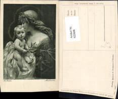 622608,Künstler Ak R. Fuchs Madonna Heiligenschein Religion - Christentum