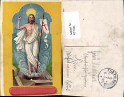 622606,Künstler Ak Jesus Heiligenschein Gonfanon Religion - Christentum
