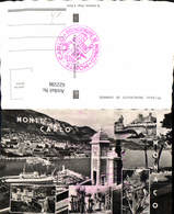 622598,Mehrbild Ak Monte Carlo Monaco Principaute De Monaco - Ohne Zuordnung