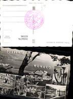 622596,Mehrbild Ak Souvenir De Monaco Principaute De Monaco - Ohne Zuordnung