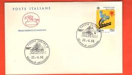FDC 50° VESPA 750 Lire 1996 Italia Annullo Padova FDc Cavallino - 6. 1946-.. República
