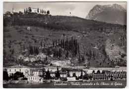 TOSCOLANO - VEDUTA PARZIALE E LA CHIESA DI GAINO - BRESCIA - 1957 - Brescia