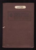 PASSPORT - PASSEPORT - PASAPORTE- PASSAPORTO - URUGUAY  - 1944 - MANY VISAS - MANY REVENUE - Documentos Históricos