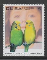 TIMBRE NEUF DE CUBA - ANIMAUX DE COMPAGNIE : PERRUCHES N° Y&T 4176 - Perroquets & Tropicaux