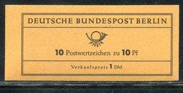 Berlin / 1962 / Markenheftchen Mi. 3a ** (ungeoeffnet !) (19170) - Markenheftchen