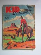 Kid Colorado N°20. Le Mystère Des Bisons! (abîmé) - Formatos Pequeños