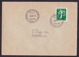 Switzerland: Cover, 1939, 1 Stamp, Special Cancel PTT Exposition Dörfli (minor Creases) - Brieven En Documenten