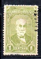 APR1822 - BOLIVIA 1897 , Yvert N. 46  Usato - Bolivia