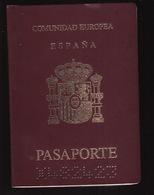 PASSPORT - PASSEPORT - PASAPORTE- PASSAPORTO  - SPAIN ESPAÑA - COMUNIDAD EUROPEA - Documentos Históricos