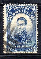 APR1826 - BOLIVIA 1897 , Yvert N. 52  Usato - Bolivia