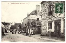MONTOURTIER (53) - Route De La Bazouge - Ed. Pavy-Legeard, Sillé Le Guillaume - Otros Municipios