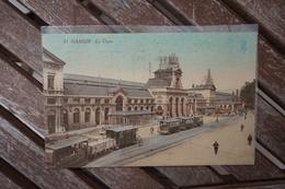 CPA - Namur - La Gare - Tram - Namen