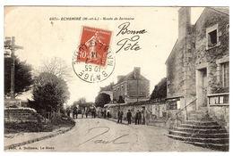 ECHEMIRE (49) - Route De Sermaise - Ed. Phot. A. Dolbeau, Le Mans - Other Municipalities