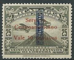 NICARAGUA   Aérien   - Yvert N° 102 * -  Ah30517 - Nicaragua