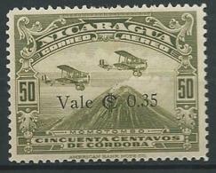 NICARAGUA   Aérien   - Yvert N° 136  *   -  Ah30519 - Nicaragua